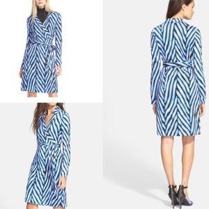 DVF | Size 8. New Jeanne Two Wrap Dress